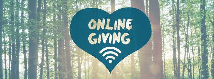 Secure online giving through Tithe.ly