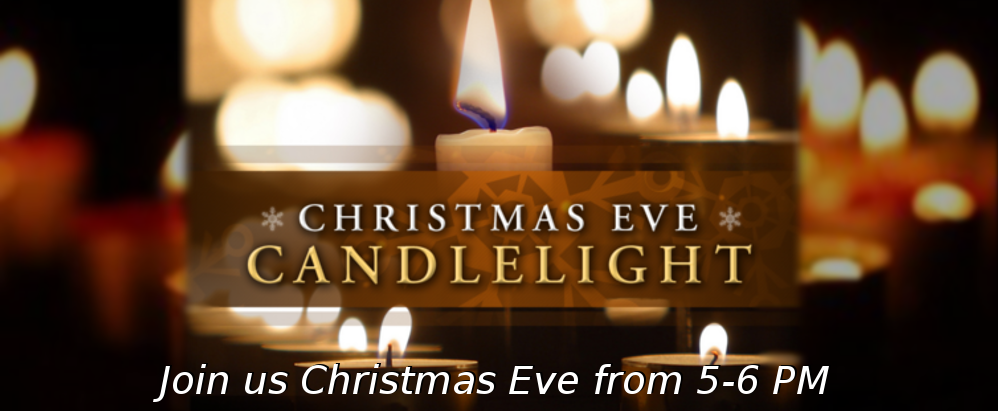 Candle Light service header